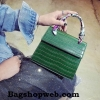 กระเป๋า Infinity Mini Croc City Bag Dark Green ราคา 890 บาท Free Ems
