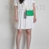 กระเป๋าสตางค์ สีเขียว พร้อมสายคล้องมือ และสายโซ่ ZARA BASIC COLLECTION Chain Strap Clutch Wallet