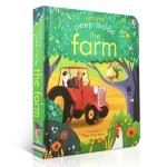 หนังสือเปิดสนุก Peep Inside The Farm by Usborne