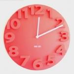 นาฬิกาแขวนผนังนูน 3D <พร้อมส่ง>
