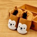 รองเท้าเด็กอ่อน ลายกระรอก วัย 0-12 เดือน