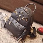 กระเป๋าเป้หนังงานสวย งานเทห์ สไตล์ mcm ขนาดมินิ backpack สีเทา ราคา 990 บาท Free Ems