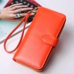 กระเป๋าสตางค์ใบยาว KQueenstar Lady สีส้ม(ใหม่)