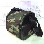 กระเป๋าผ้า(ใส่กรงโค้งได้) ลายทหาร