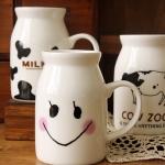 แก้วเซรามิคทรงถังนม