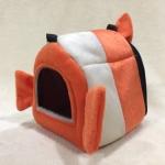 กระเป๋าผ้าขนนุ่มมีหู M ส้มนีโม่