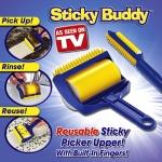 ลูกกลิ้งทำความสะอาดอเนกประสงค์ Sticky Buddy < พร้อมส่ง >
