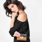 CHARLES & KEITH PUSH-LOCK WALLET NEW ARRIVAL 2017 กระเป๋าเงินใบกลาง สีน้ำตาล