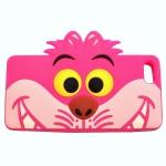 SALES!!! CHESHIRE CAT [ALICE IN WONDERLAND] IPHONE6 PLUS หน้ากากไอโฟน6พลัส เคสซิลิโคน แมวเชสเชียร์ สีชมพู พร้อมส่ง