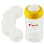 [แพคคู่] ซิลิโคนปิดฝาขวดนม Silicone Sealing Disc แบบคอกว้าง, ทรงมาตรฐาน