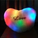 หมอนหัวใจ LOVE ไฟเปลี่ยนสี <พร้อมส่ง>