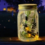 ขวดโหลหิ่งห้อย Electronic Firefly in a Jar <พร้อมส่ง>