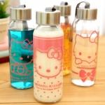 ขวดแก้ว Hello Kitty 430ml