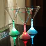 แก้วช็อตแชมเปญ LED 7สี