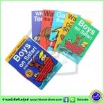 Roger Priddy : Boys On Safari Slipcase - Set Of 5 Books : First Time Storybooks เซตหนังสือเล่มแรกพร้อมกระเป๋ากระดาษ