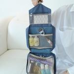 กระเป๋าใส่อุปกรณ์อาบน้ำ ขนาดกะทัดรัด ใส่อุปกรณ์อาบน้ำ แขวนได้ สำหรับเดินทาง ท่องเที่ยว พกพาสะดวกมี 4 สี 4 ลายให้เลือก