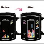 แก้วกาแฟ Tertris เปลี่ยนรูปตามอุณหภูมิ <พร้อมส่ง>