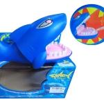 ปลาฉลามงับนิ้ว มีไฟและเสียงหัวเราะ