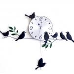 นาฬิกาแขวนผนังรูปนก <พร้อมส่ง>