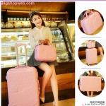 กระเป๋าเดินทางล้อลาก Kitty 3 ขนาด Pink