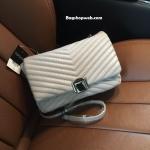 กระเป๋า Topshop Shoulder Bag With Chain Grey ราคา 1,190 บาท Free Ems