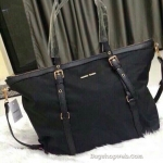 กระเป๋า MANGO Black Nylon Shopping Bag 2016