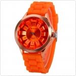 นาฬิกาข้อมือ สีสันบาดใจ กับหน้าปัด3 มิติ