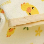 ผ้ายางสักหลาด ปูที่นอนซับฉี่ Piyo Piyo ขนาด 70 x 60 ซม.