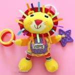 ตุ๊กตาโมบายผ้ารูปสิงโต lamaze เสริมพัฒนาการ