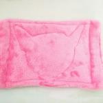 ผ้ารองกรงพกพาสี่เหลี่ยม #3 ชมพู