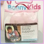 Body Support ชุดที่รองคาร์ซีท และรถเข็นเด็ก สีชมพู