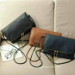 H&M : Clutch Bag Color : กรม, น้ำตาล , ดำ