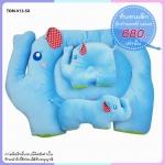 ที่นอนพี่ช้างกำมะหยี่ สีฟ้า