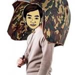 ร่มหมวกทหาร <พร้อมส่ง>