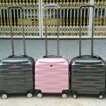 กระเป๋าเดินทางล้อลาก SWISS ใส่โน๊ตบุ๊คได้ ขนาด 16*16 นิ้ว ราคา 1,590 บาท