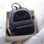 กระเป๋าเป้ทรงมินิ ฮิตมาก เนื้อกริสเตอร์ by Magic Bag ขนาด 10 นิ้ว งานเนี๊ยบค่ะ 1190 ส่งฟรี ems