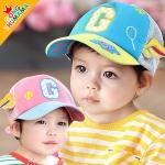หมวกแก๊ปเด็กแนวสปอร์ต ลายเทนนิส G สำหรับเด็กวัย 1-5 ปี