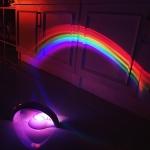 เครื่องทำสายรุ้งจำลอง โคมไฟสายรุ้ง Rainbow LED Projector