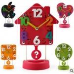 นาฬิกาตั้งโต๊ะ 3D 5ลาย <พร้อมส่ง>