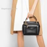 กระเป๋า CHARLES & KEITH TOP HANDLE BAG (Size Mini) Black ราคา 1,490 บาท Free EMS