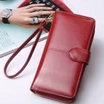 กระเป๋าสตางค์ใบยาว KQueenstar Lady สีแดง(ใหม่)