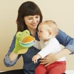 ตุ๊กตามือ รูปจระเข้ SKK Baby - Crocodile mirror puppet