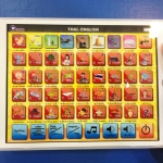 มินิแท็ปเล็ต จอสัมผัส สอนภาษาไทย-อังกฤษ ก-ฮ A-Z 1-10