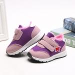 รองเท้าคัชชูเด็กเล็กหญิง สีชมพูม่วง (เท้ายาว 11-12.5 ซม.)