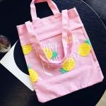 กระเป๋าผ้าลายผลไม้
