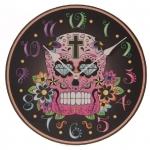 นาฬิกาหัวกระโหลก ทรงกลม Skull Wall Clock <พร้อมส่ง>