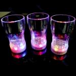 แก้วเบียร์เปลี่ยนสี LED 7สี ทรงจีบ