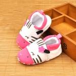 รองเท้าเด็กอ่อน รูปม้าลาย วัย 0-12 เดือน