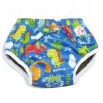 Day Pants size M -รุ่นชาโคล (Big Dino-Blue)