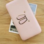 กระเป๋าสตางค์ใส่โทรศัพท์ Rabby Style Box สีชมพู